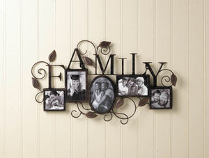 Family 5 Wall Photo Frame