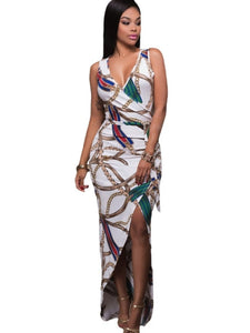 Bodycon Sleeveless Split Women's Maxi Dress