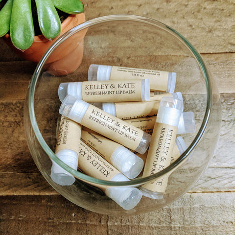 Refresh-Mint Lip Balm