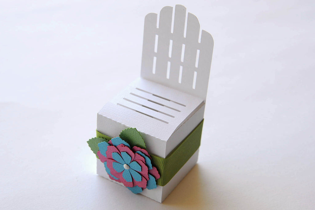 Set of 10 Adirondack Chair Wedding / Party Favor Boxes