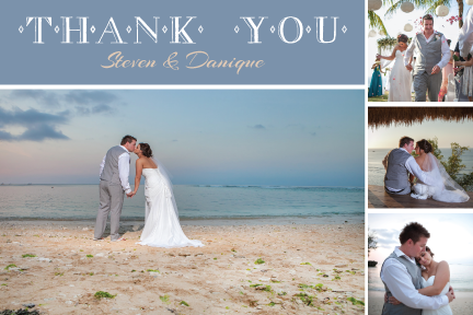 Customized Thank You Postcards - Sample 4