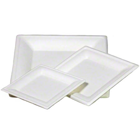 Paper Dinner Plates, Untreated square