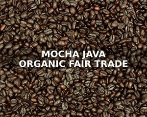 McGlaughlin Mocha Java Organic Fair Trade Dark Roast Coffee 1 lb *