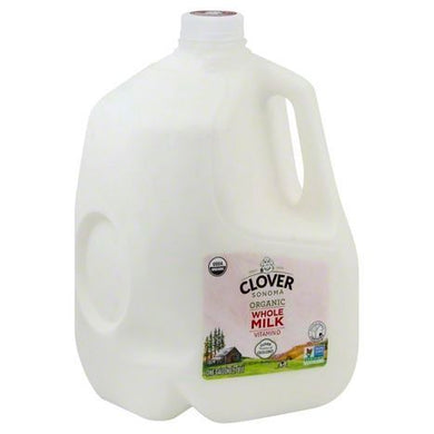 Clover Organic Gallon Whole Milk *