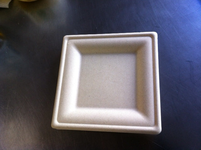 paper dinner plates untreated square greenleaf platters