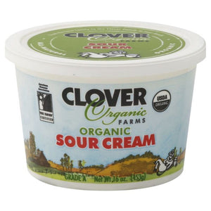 Clover Organic Sour Cream 1 pint *