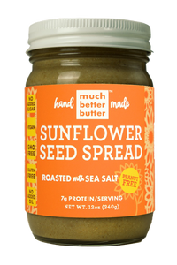 Sunflower Seed Butter Roasted with Sea Salt (no sugar added) 12oz *