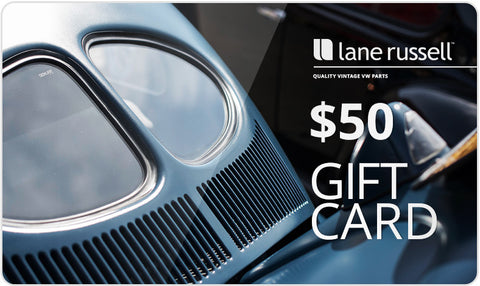 Win a $50 Lane Russell Gift Card