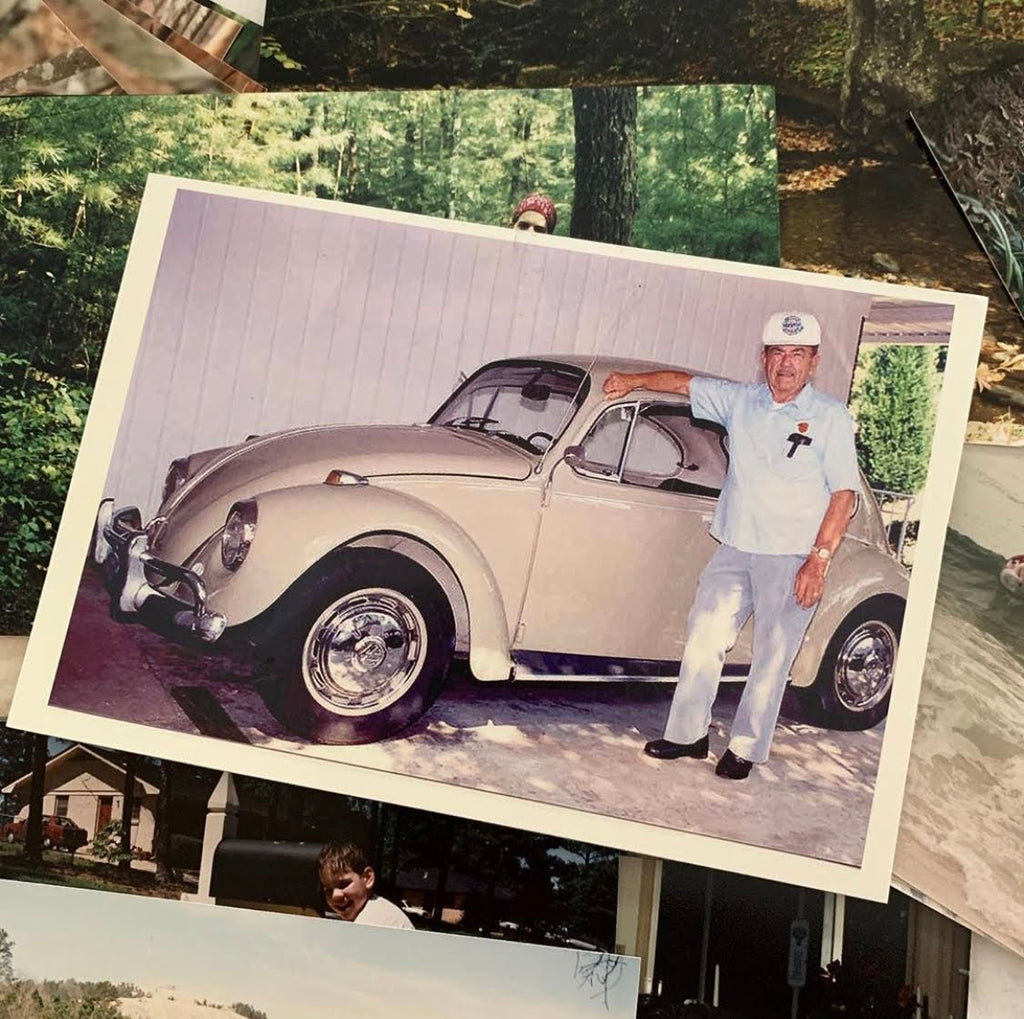 Frank R. Shoemaker Sr. purchased a 1967 Beetle brand new in December 1966. It's been in the family ever since.