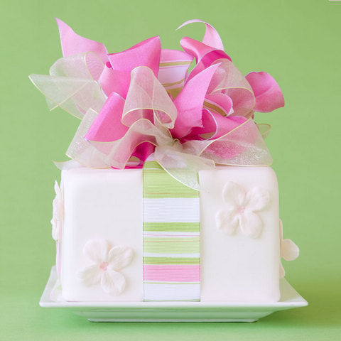 Wrapped Package Cake