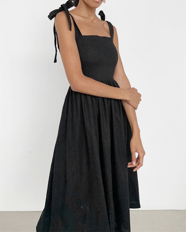 Margareta Dress in Charcoal by Closed Caption Collection 01