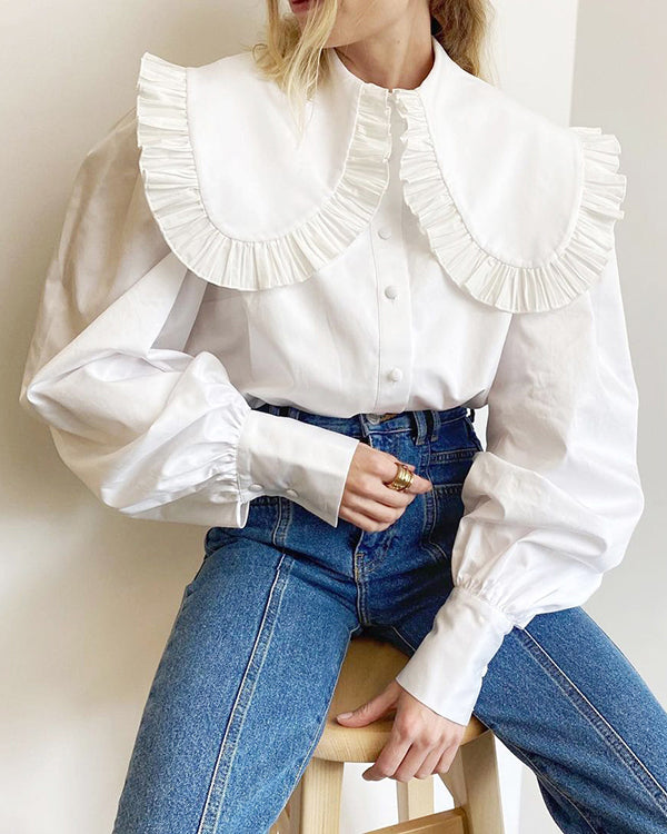 Theresa Blouse by Closed Caption Collection 01