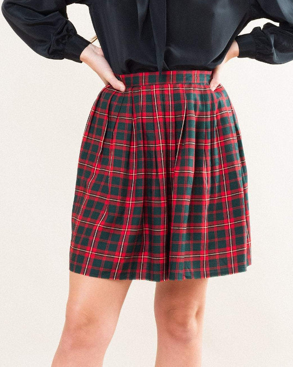 Plaid Skirt By Closed Caption
