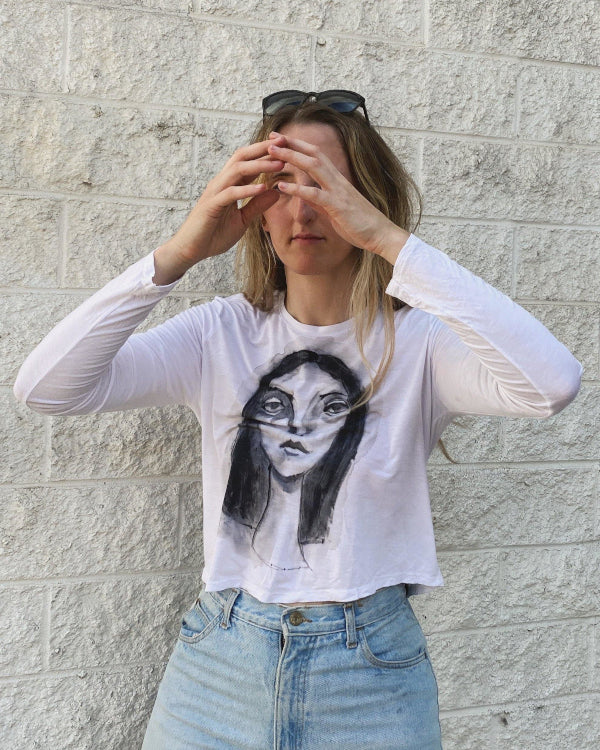 Handpainted Shirt By Closed Caption