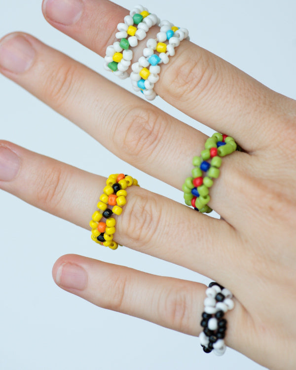 Flower Rings By Closed Caption