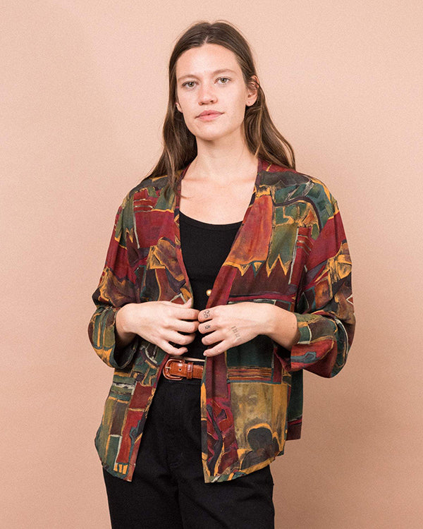 The Blouse Jacket by Closed Caption