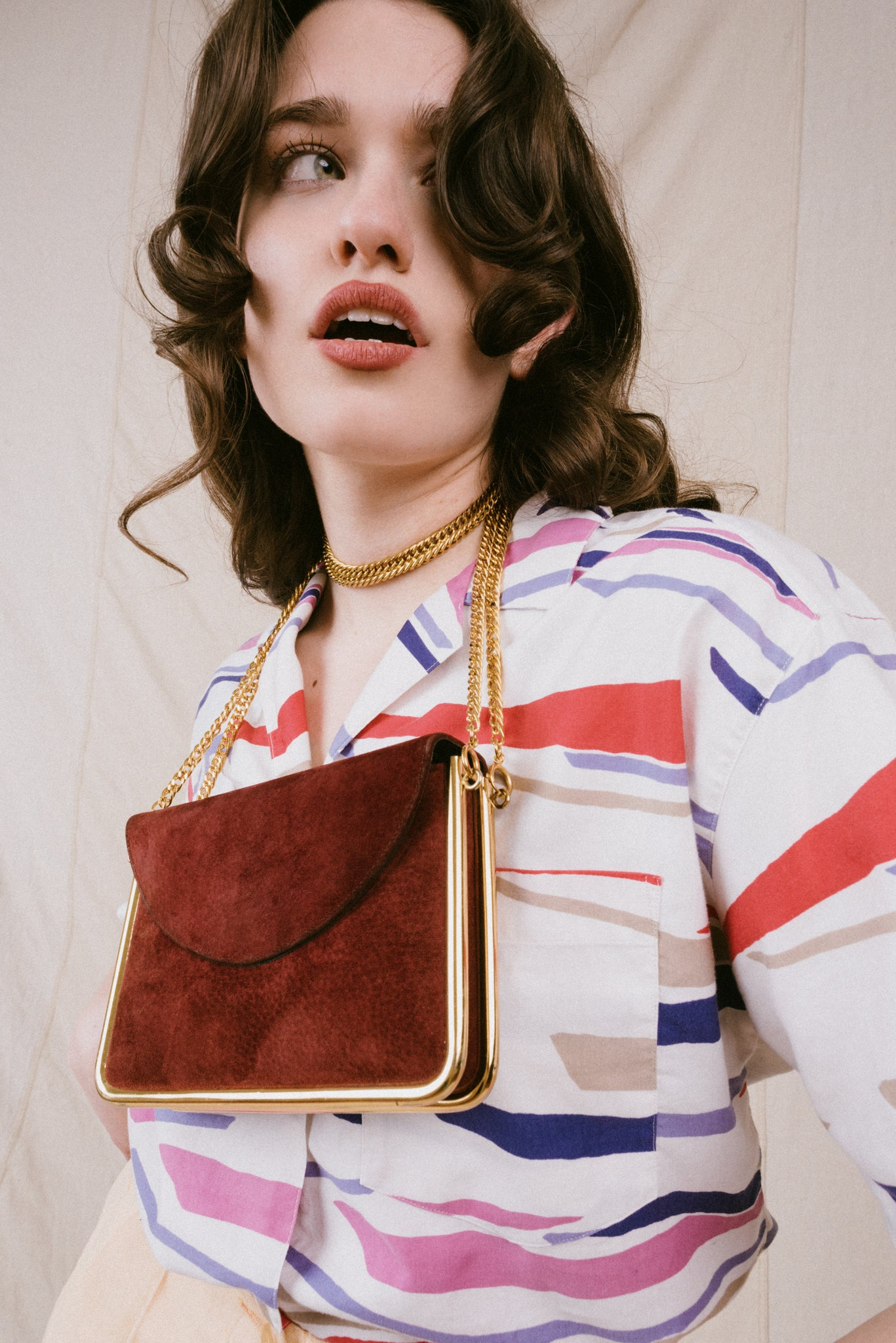Vintage Oversized Cloud Chunky Abstract Knit Sweater / S/M - Closed Caption