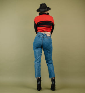 Vintage Dark Wash High Rise Denim Pants / S - Closed Caption
