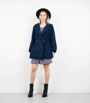 Vintage Night Sky Cinched Jacket / S - Closed Caption