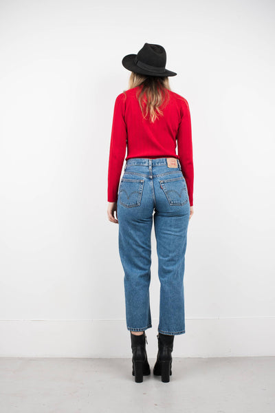 Vintage LEVIS 550 Blue Denim Pants / S