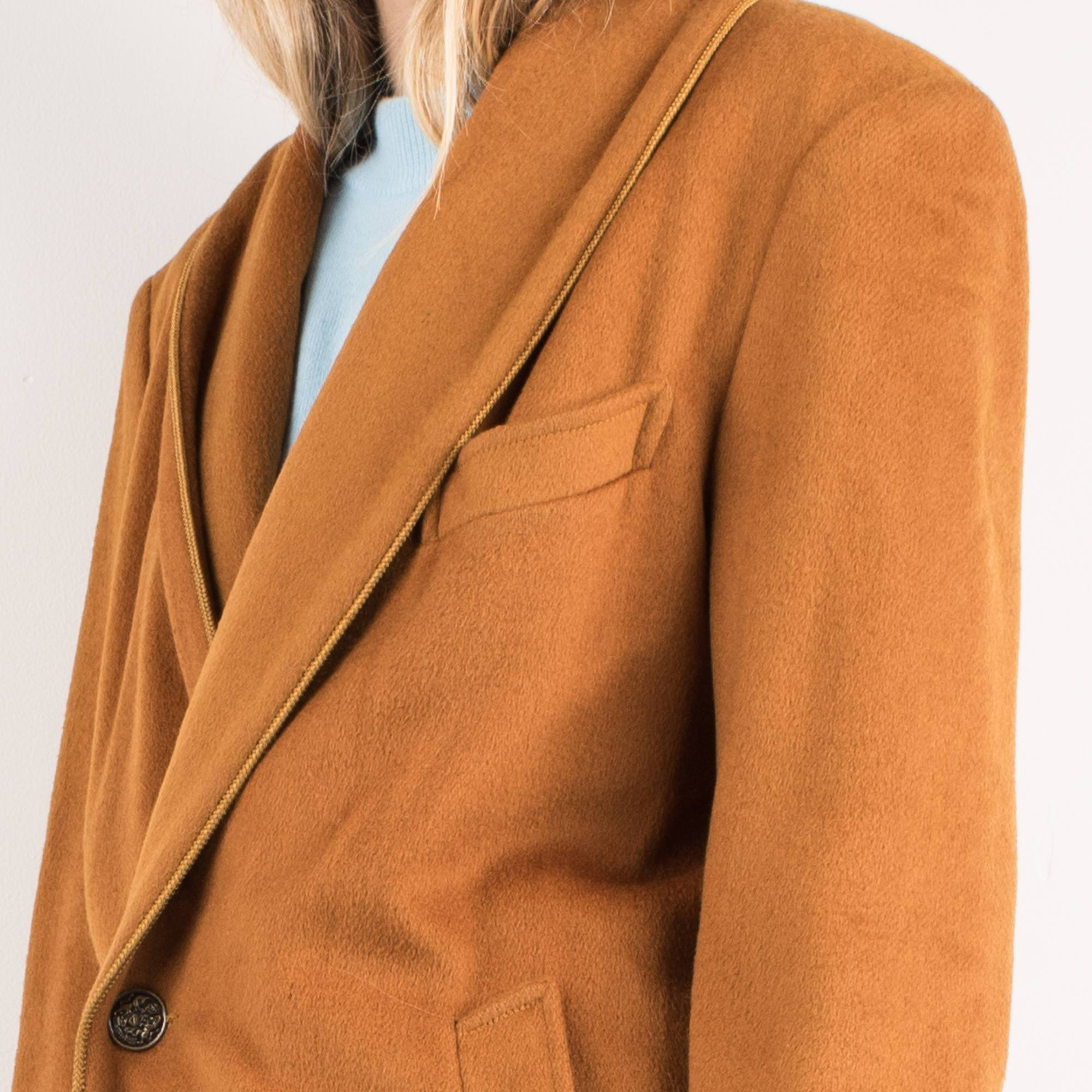 Vintage Squash Wool Coat / S - Closed Caption