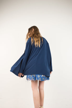 Vintage Night Sky Oversized Summer Jacket / S - Closed Caption