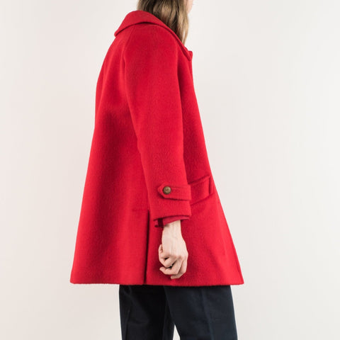 Vintage Red Wool Jacket / S