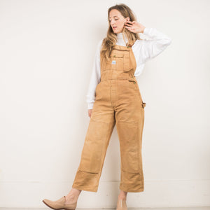 Vintage Butterscotch LIBERTY Utilitarian Overalls / S - Closed Caption