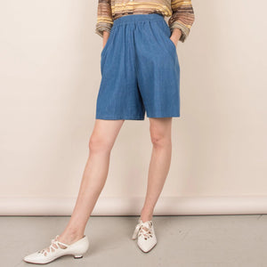 Vintage Medium Wash Shorts  / S