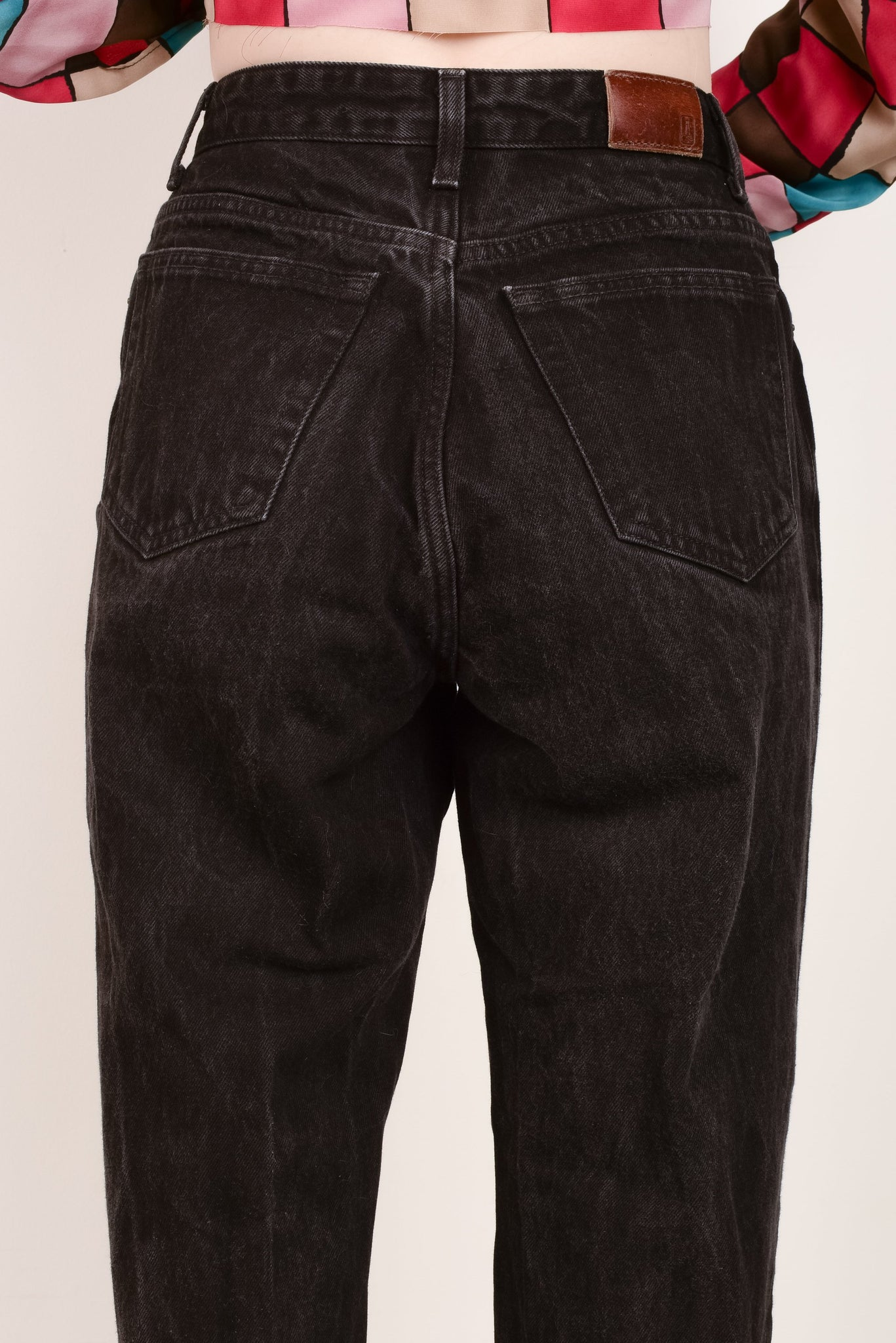 Vintage Charcoal LANDS'END Denim Pants  / S/M