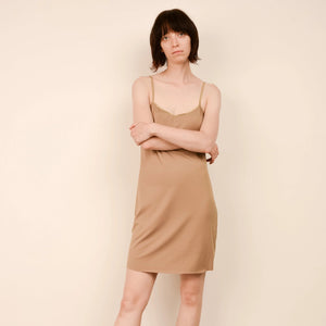 Vintage Gold Slip Dress /S/M