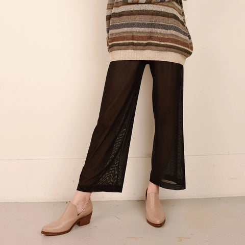 Unique Mesh Wide Leg Pants /S/M