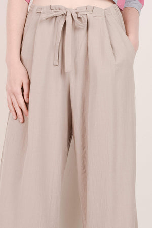 Spring Time Cropped Crinkle Pants / S/M