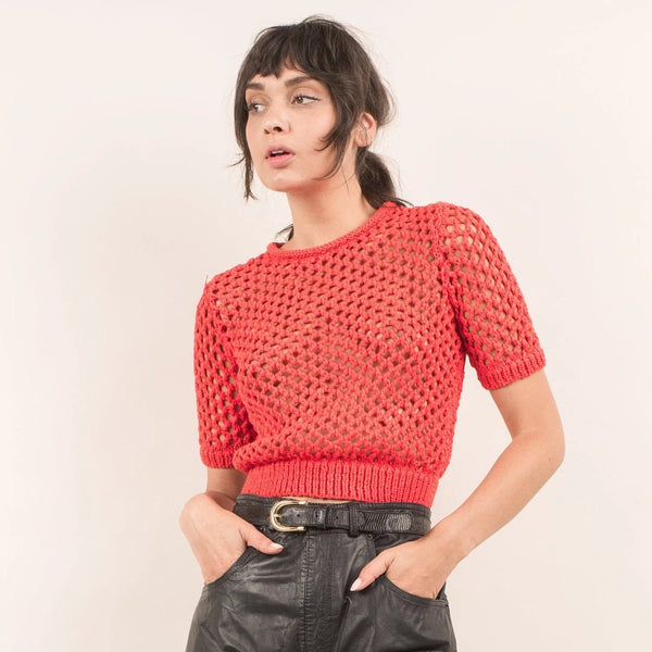Vintage Cropped ALEXANDER WANG Sweater / XS/S