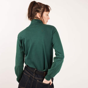 Vintage Forest Green Turtleneck  / S/M