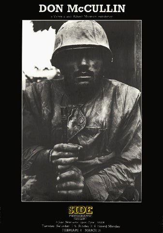 SOLD OUT - Don McCullin exhibition poster (ref 45)