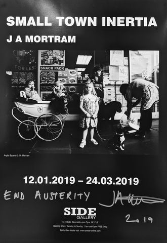 Small Town Inertia signed exhibition poster