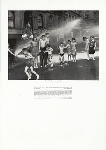 Weegee poster - Summer, The Lower East Side (ref 12)