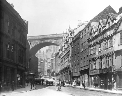 Edgar Lee, View of Side, Newcastle upon Tyne