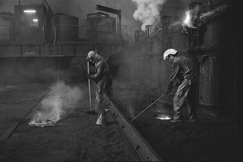 Peter Fryer, Derwenthaugh Coke Works, Top of Oven