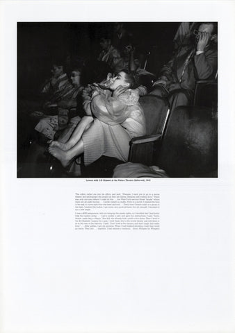 Weegee poster - Lovers with 3-D Glasses at the Palace Theatre (Infra-red), 1943 (ref 10)