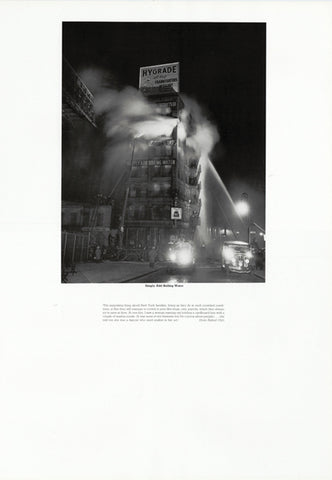 Weegee poster - Simply Add Boiling Water (ref 9)