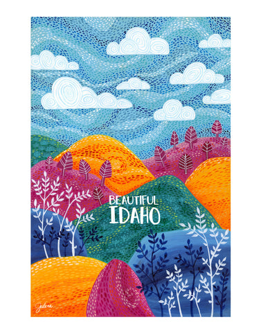 Beautiful Idaho Symphony Hills - print
