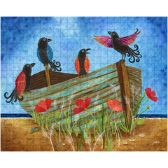 Crow Rowboat Puzzles