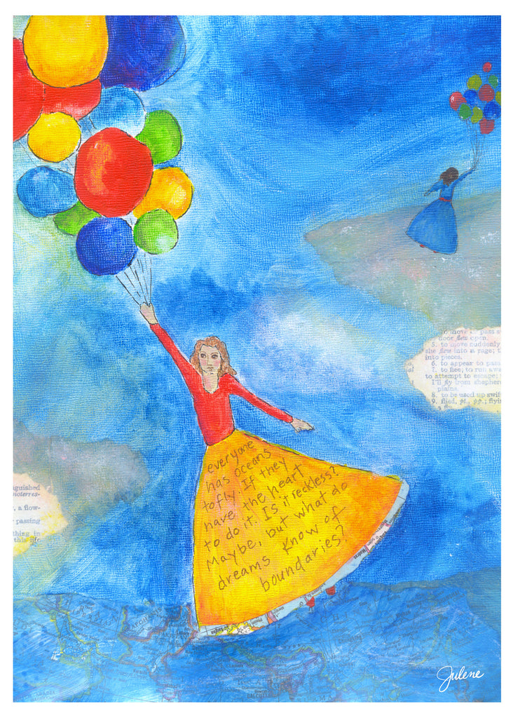 Balloon Dreams greeting card