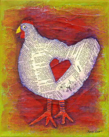 Chicken Lover - Print