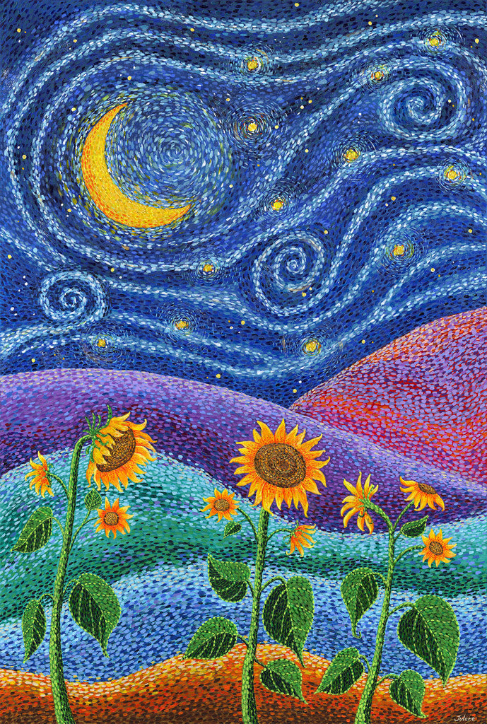 Dream Fields - print
