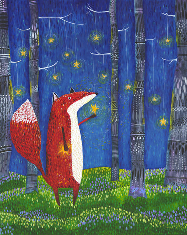 Fox Star Forest - Print
