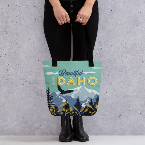 Beautiful Idaho Tote bag