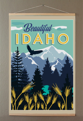 Beautiful Idaho Banner